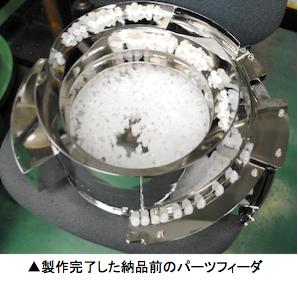 パーツフィーダ 自動供給装置 機械製造業